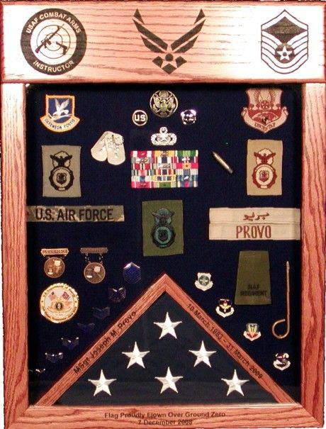 Laser-Top Shadow Box :: Military Shadow Boxes :: Morgan House ...