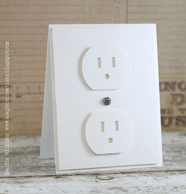 electric outlet card
