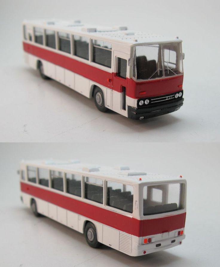 Ikarus 255.71 Intercity-Bus Überlandbus 1972 DDR UdSSR - 1:87 HO