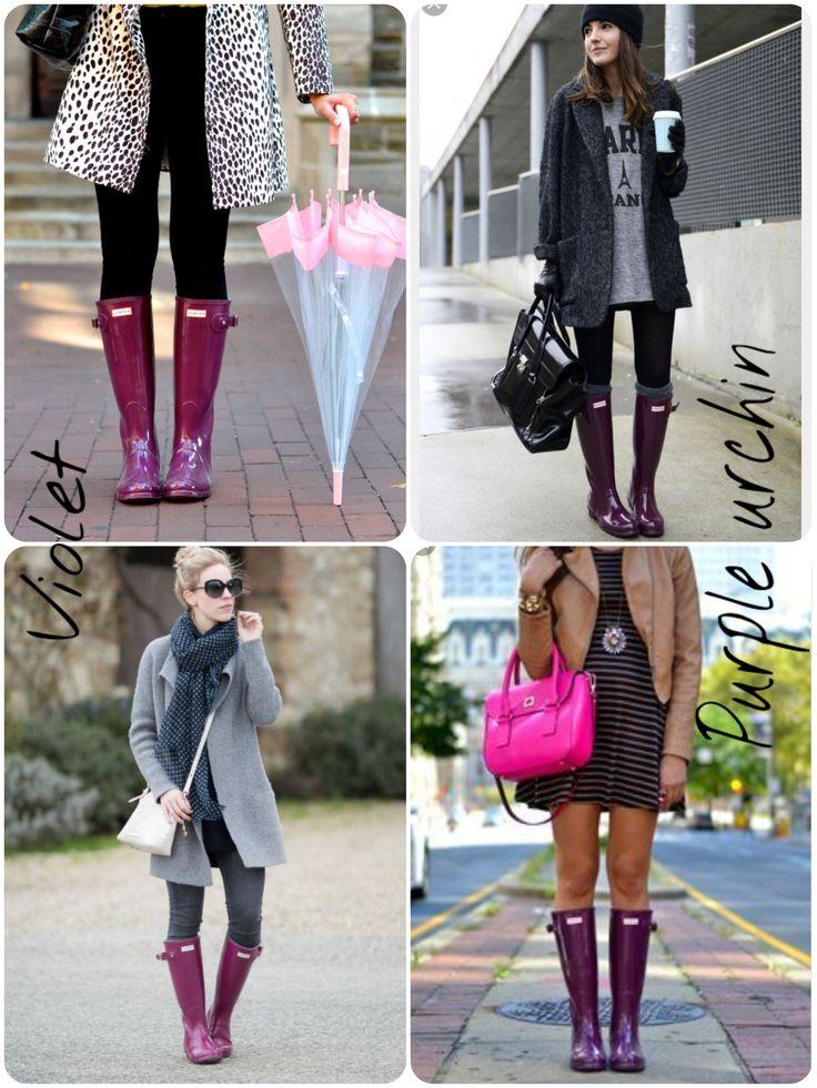 the 25 best purple hunter boots ideas on pinterest purple wellies the purple and cute rainy. Black Bedroom Furniture Sets. Home Design Ideas
