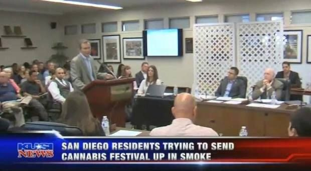 """On Tuesday, San Diegans came out in droves to push back against The GoodLife Festival 2017 set to take place at the local Fairgrounds in September. Their voices were heard by the Fairgrounds Board of Directors, who ultimately decided to cancel the event.  15-year-old Angel Jaramillo told KUSI News: """"Kids like me would be exposed - they might hear it on the radio or see a billboard. After experiencing marijuana use throughout my family, I see it's just having a negative impact on people's…"""