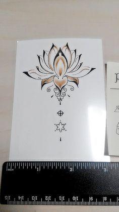 Tótem de Mandala temporal tatuaje étnico arte por prosciuttojojo