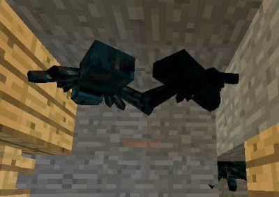 Orphea2012 Youtube et Minecraft: Minecraft | Mine abandonnée, deux araignées bleues...