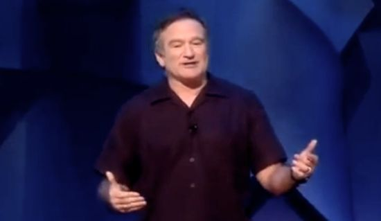 You Might Cry From Laughing - Robin Williams Brilliantly Takes Out Bush, McCain & Palin (Video)