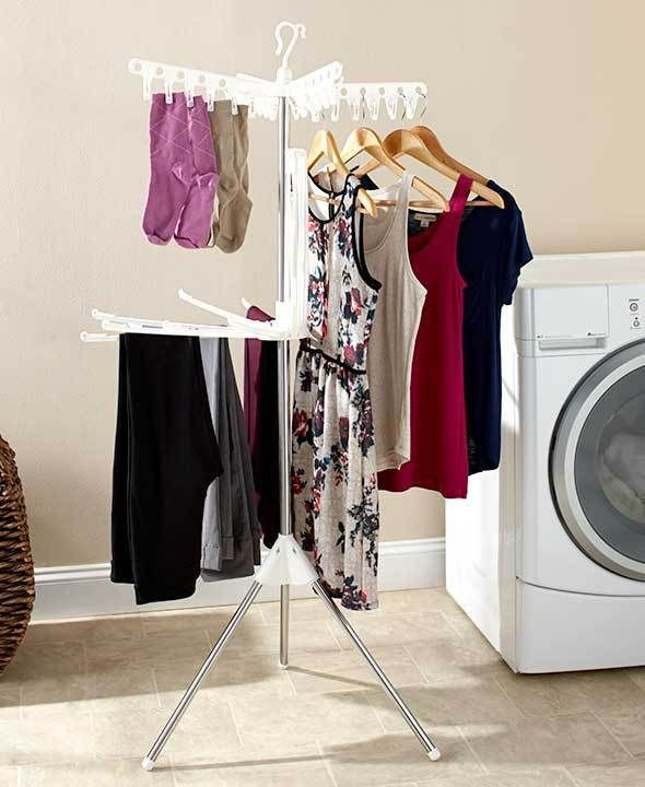 25+ Best Ideas About Folding Clothes Rack On Pinterest