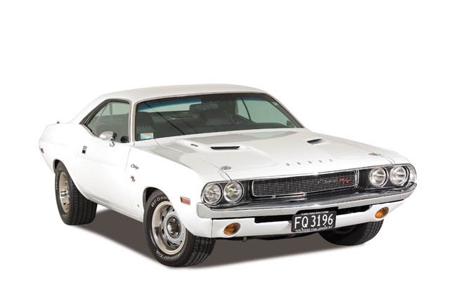Classic Movie Cars: 1970 Dodge Challenger R/T White ...