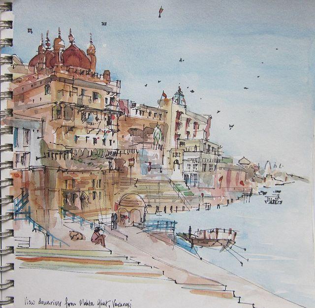 Arktetonix   Os sketches de viagem por Suhita Shirodkar