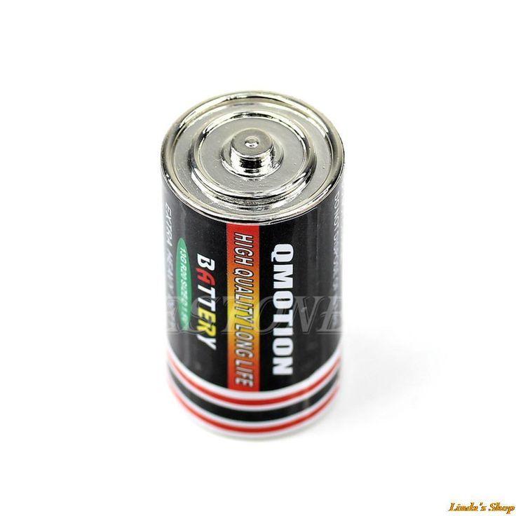L'argent Pilule Boîte Cachée Coins Conteneur Cas Batterie Secret Stash Diversion Safe Case-S018 Haute Qualité