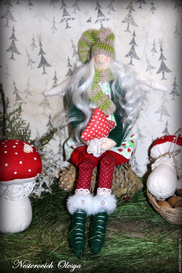 Купить Лесная фея-тильда. - тильда, тильда кукла, тильда ангел, тильда фея