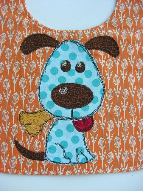 dog Bib by flossyblossy, via Flickr