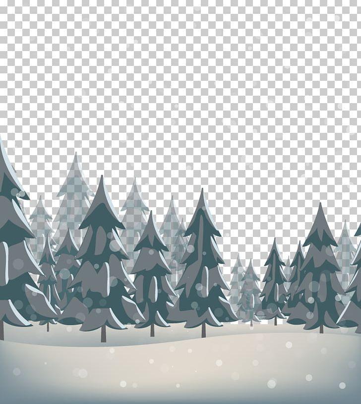 Snow Pine Png Black Black Forest Cold Computer Wallpaper Fir Computer Wallpaper Png Art Decoration