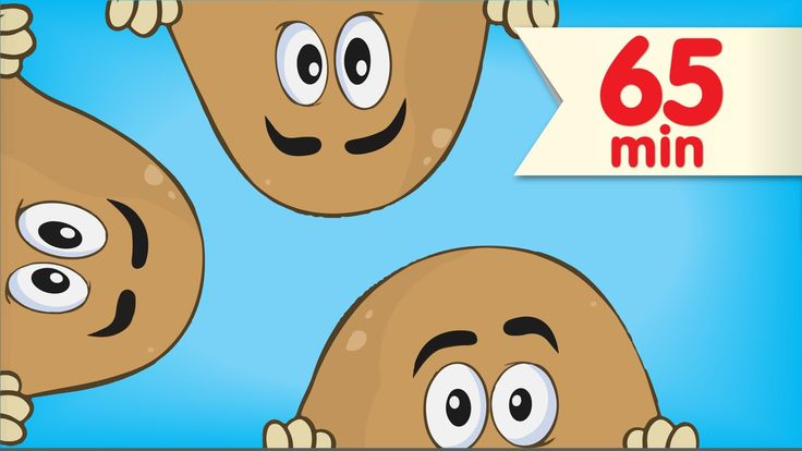"""What do potatoes do for fun? Find out in this video collection featuring """"One Potato, Two Potatoes + More"""" from Super Simple Learning.  #preschool #kindergarten #counting"""
