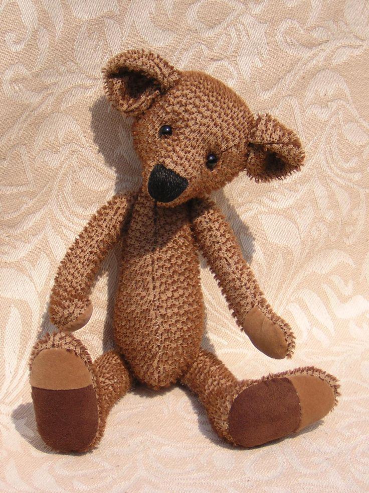 Teddy Bear Sewing PDF Pattern - pinned by pin4etsy.com