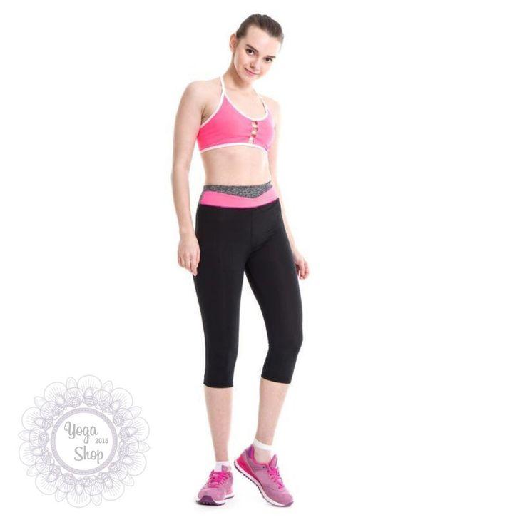 aaf38c9797 1 PC High Waist Fitness Yoga Sport Shorts Stretch Cropped Leggings 28