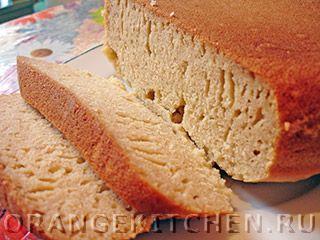 Вегетарианский рецепт постного кукурузного хлеба
