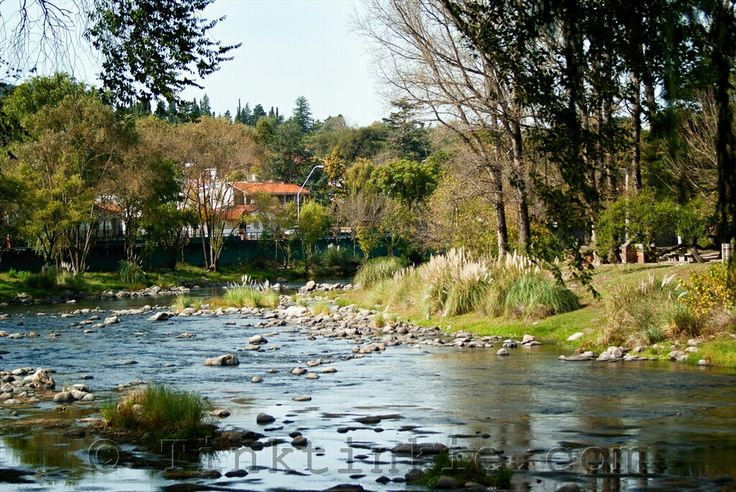 Santa Rosa de Calamuchita on a beautiful spring day.