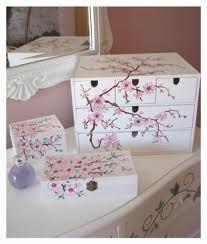 pintura decorativa en cajas de madera - Pesquisa Google