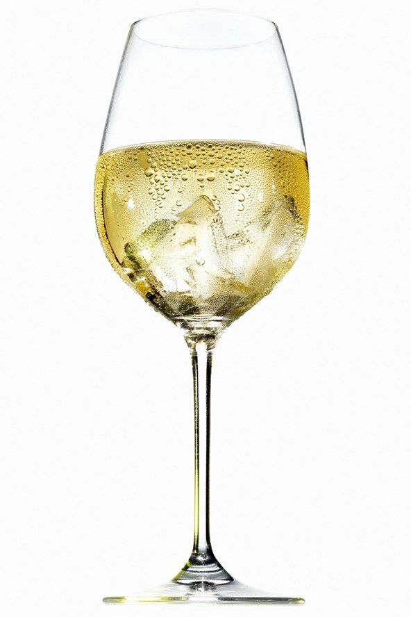 For a wine spritzer  We'd recommend steering clear of low-calorie wines (they're usually an affront to the tastebuds of vino fans) and bulking out your glass with a serving of soda water instead.   Calories: 97 for a medium glass