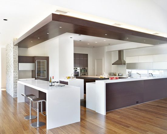 extraordinary kitchen ceiling designs | 17 Best images about Kitchen Reno - Lighting with a drop ...