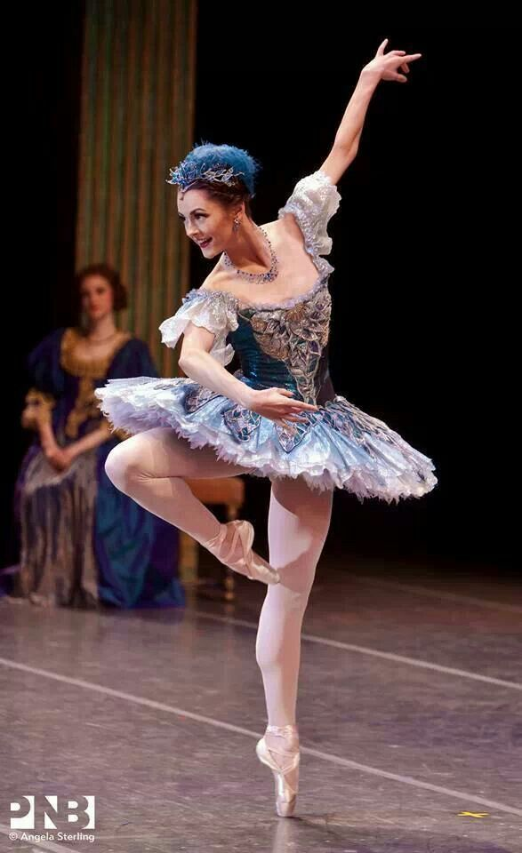 """Brittany Reid as Fairy in """"The Sleeping Beauty"""" /Pacific Northwest Ballet /photo by Angela Sterling"""