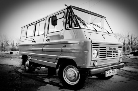 comunistic van from Poland: Zhuk (Żuk)
