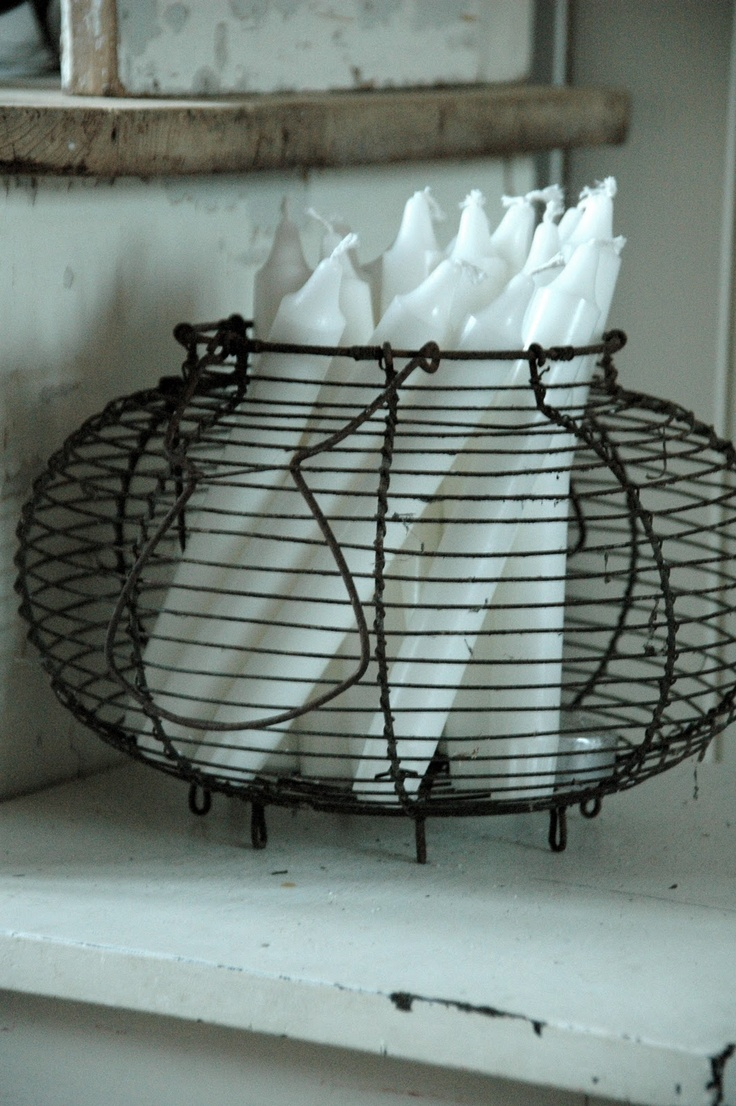 103 best Wire & Metal Baskets images on Pinterest | Wire baskets ...