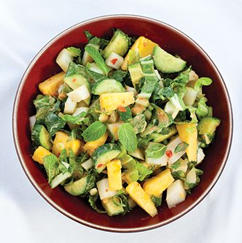 Thai-Inspired Bok Choy and Pineapple Salad
