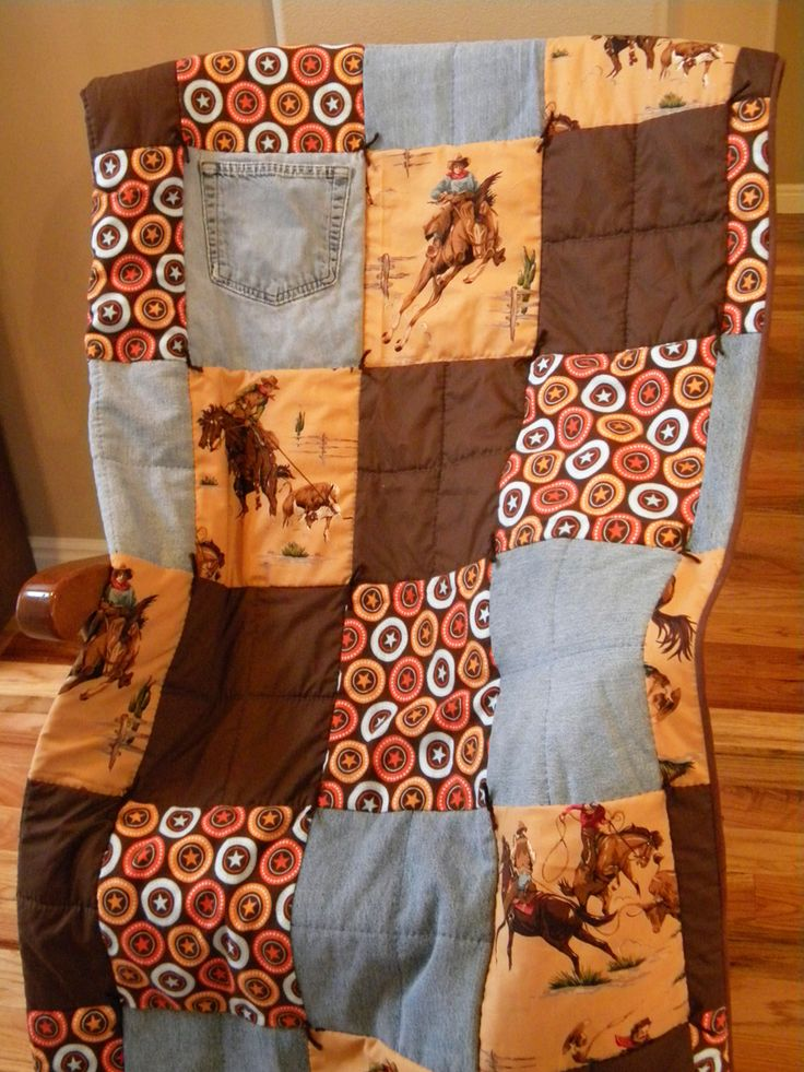 276 Best Quilts Cowboys Silhouette Images On Pinterest