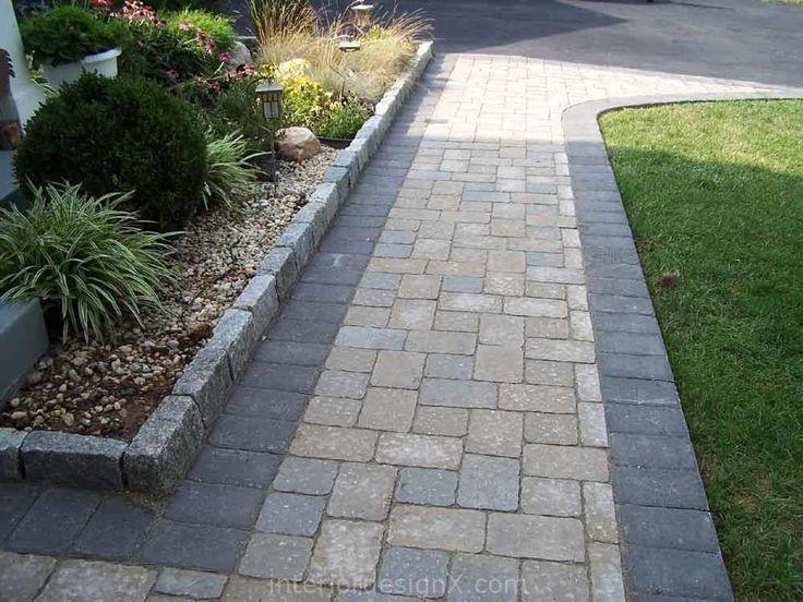 stone Paver Walkway Design Ideas Walkway Ideas Paver