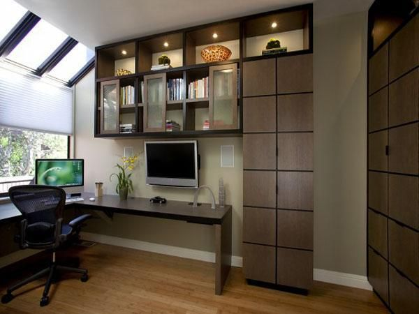 30 Corner Office Designs and Space Saving Furniture Placement Ideas – Lushome