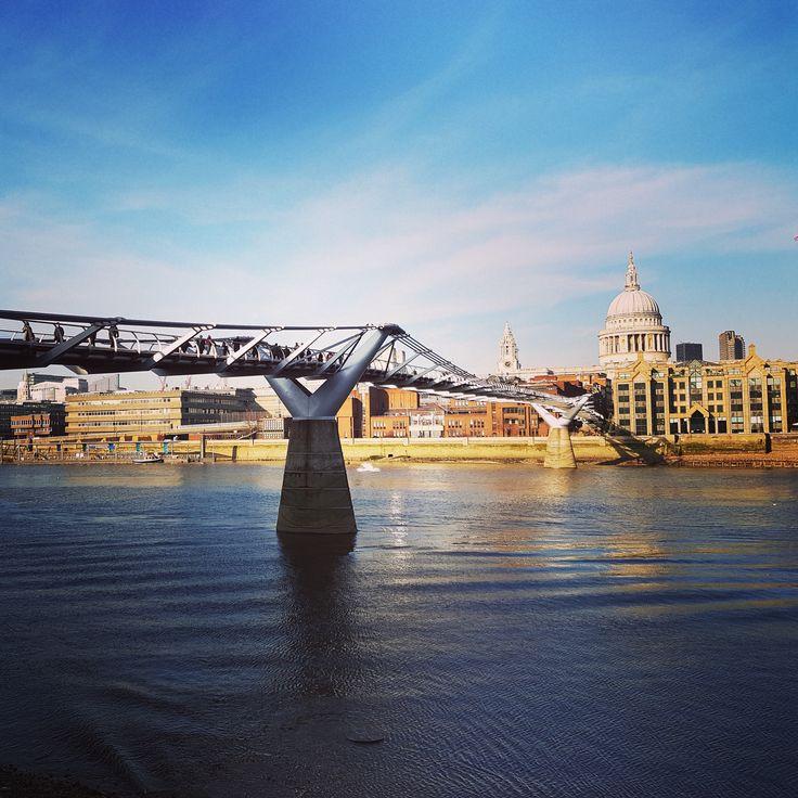 Sometimes you get the best light from a burning bridge. @London www.blog.myperfectrip.com