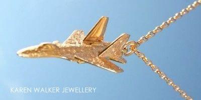 Karen Walker Gold Airplane!