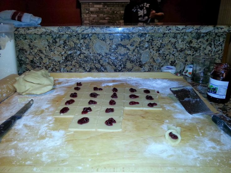 Restless Until I Rest in Thee: Recipe for Kolaczki (ko-lah-ch-ky) - a famous Polish cookie/pastry