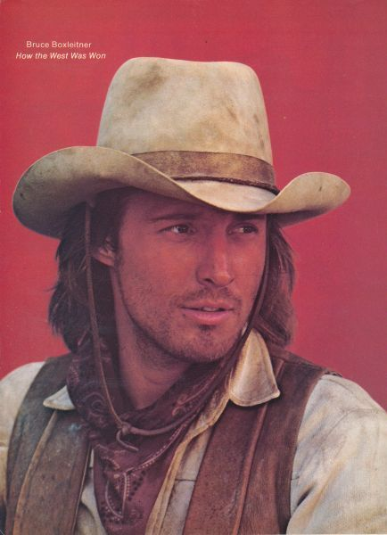Bruce Boxleitner in How the West Was Won... I had such a crush on him!!