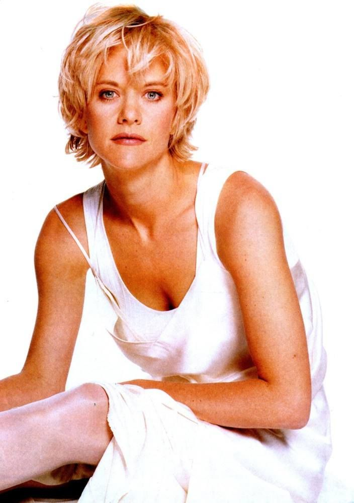 Ooooh!  i loved Meg Ryan's hair in the 80s and 90s!       short hair