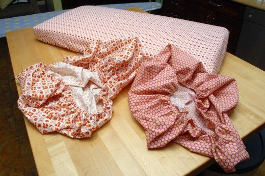How to Sew Mini Crib Sheets (Easy with Pictures)
