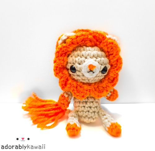 Amigurumi Stitch Calculator : 108 best images about amigurumi lions and tigers on ...