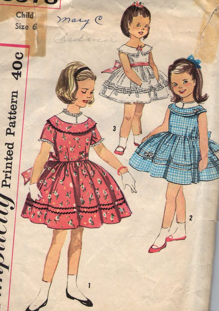 1559 besten Vintage Girls Patterns Bilder auf Pinterest | Retro ...