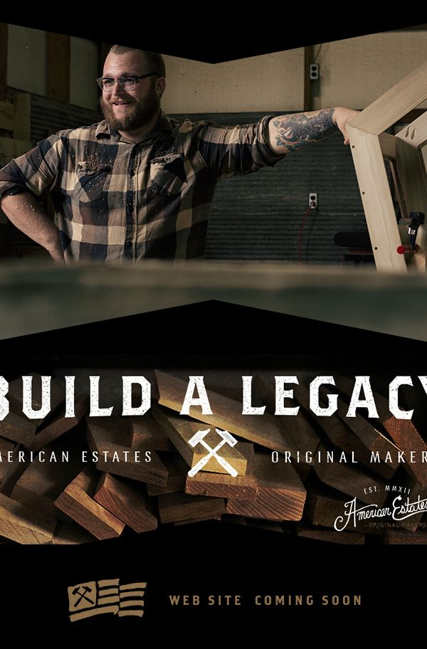 American Estates - Branding / Creative Direction by Jeremy Teff, via Behance