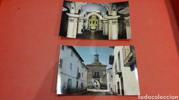 Lote de 2 postales de Muniesa teruel - Foto 1