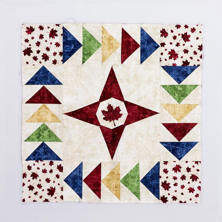 (Challenge block) Shop: Kaleidoscope Quilt Company in Duncan, BC