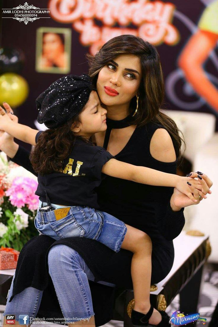 Fiza Ali With Daughter Prettiest Actresses Pakistani