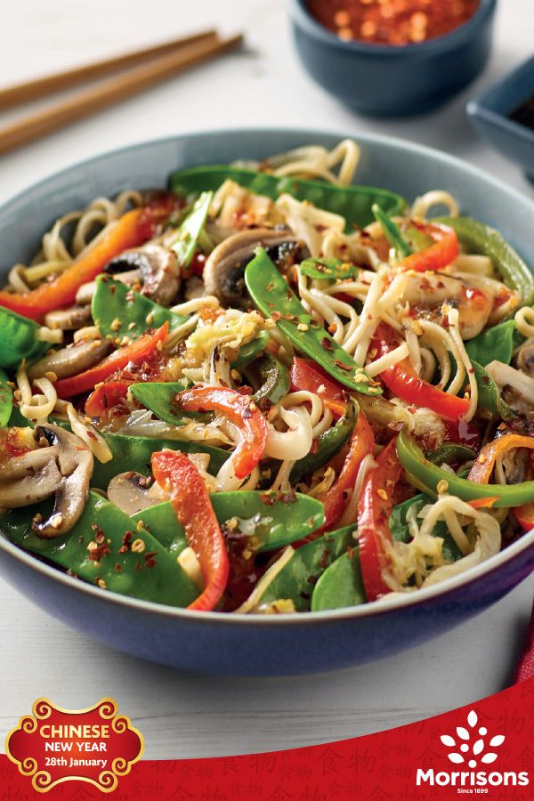 This Chinese Vegetable Stir fry is perfect for Chinese New Year - a quick stir fry recipe bursting with flavour and will easily serve 2 people in just 15 minutes. Why not give it a try?