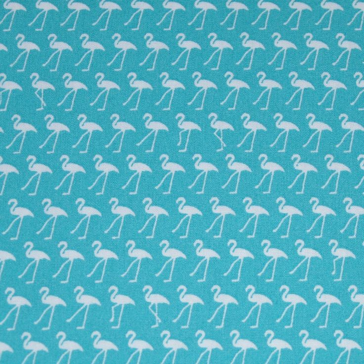 Sew Scrumptious Fabrics - Flamingos - Blue, £2.75 (http://www.sewscrumptious.co.uk/flamingos-blue/)