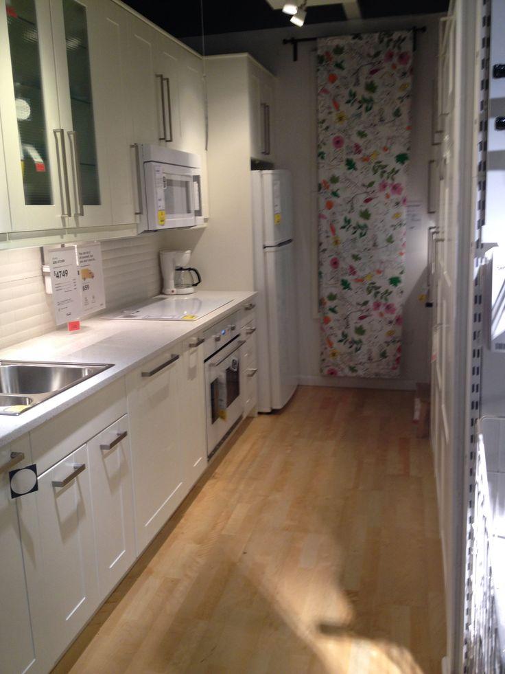 Ikea Galley Kitchen Idea Home Pinterest