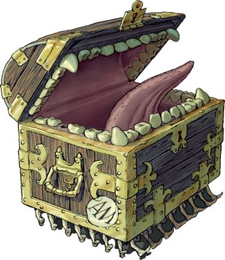 Luggage from Terry Pratchett's Discworld - fan art. @brynwittmayer i found one with the feet!  :D