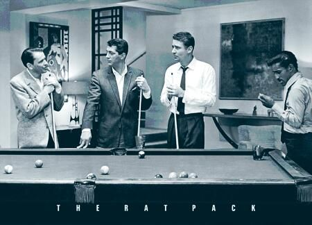 The Rat PackMusic, Picture-Black Posters, The Rats Pack, Theratpack, People, Pools, Dean Martin, Frank Sinatra, The Rat Pack
