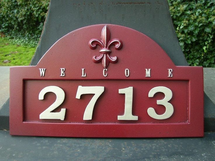 13 Best House Address Plaques Images On Pinterest House