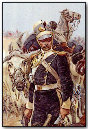 Light brigade cavalryman.