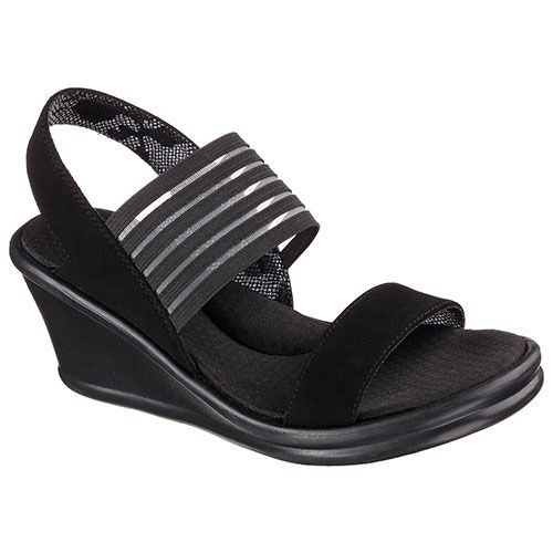 Ladies Skechers Rumblers Sci Fi Wedge Sandals.  boscovs.com